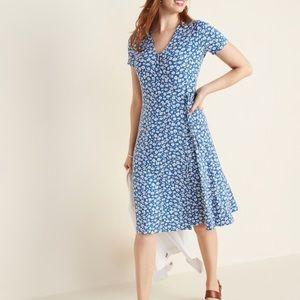 Tie waist cotton Old Navy Dress